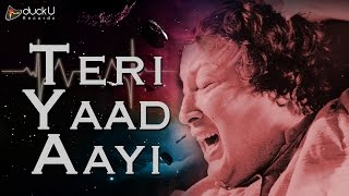 Teri Yaad Aayi By  Nusrat Fateh Ali Khan | Mid Night Songs