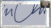 How to    Create a Transparent Signature Stamp for Adobe