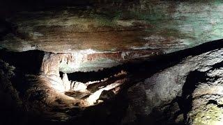 USA КИНО 1040. Теннесси. Пещеры и подземное озеро Lost Sea, Sweetwater, TN