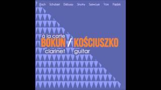 Bokun-Kosciuszko Duo - A la carte CD promo PL