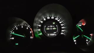 SAAB 2.0 TiD 0-100 km/h.