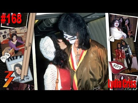 Ep. 168 Lydia Criss ex-wife of Former KISS Drummer Peter Criss