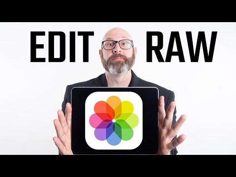 How To Edit Raw Files On IPad Pro With Photos.app