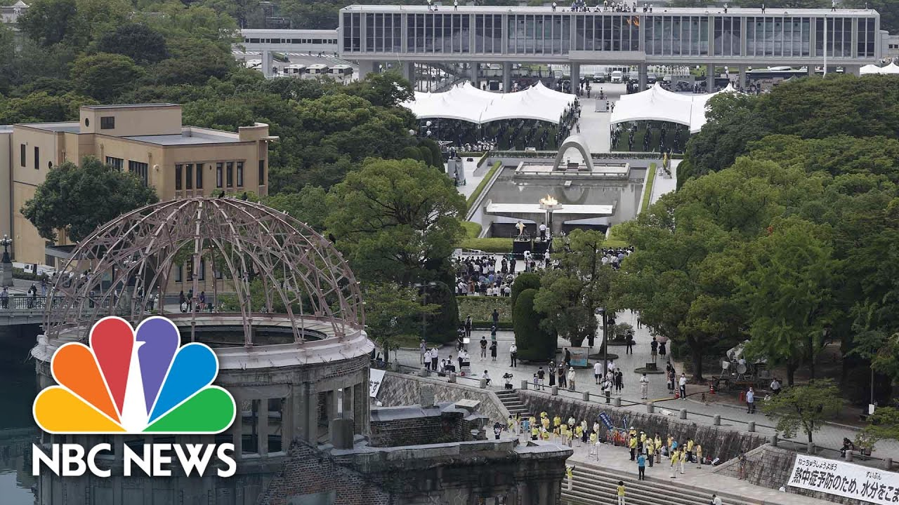 Hiroshima Marks 75th Anniversary Of Atomic Bombing With Scaled-Back Ceremony | NBC News NOW