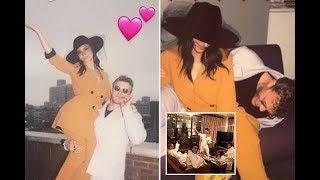 Emily Ratajkowski cuddles up to new husband Sebastian Bear McClard as she shares more snaps