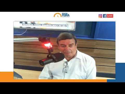 Entrevista com o Prefeito de Feira Colbert Martins no Bom Dia Feira desta quarta-feira (19)