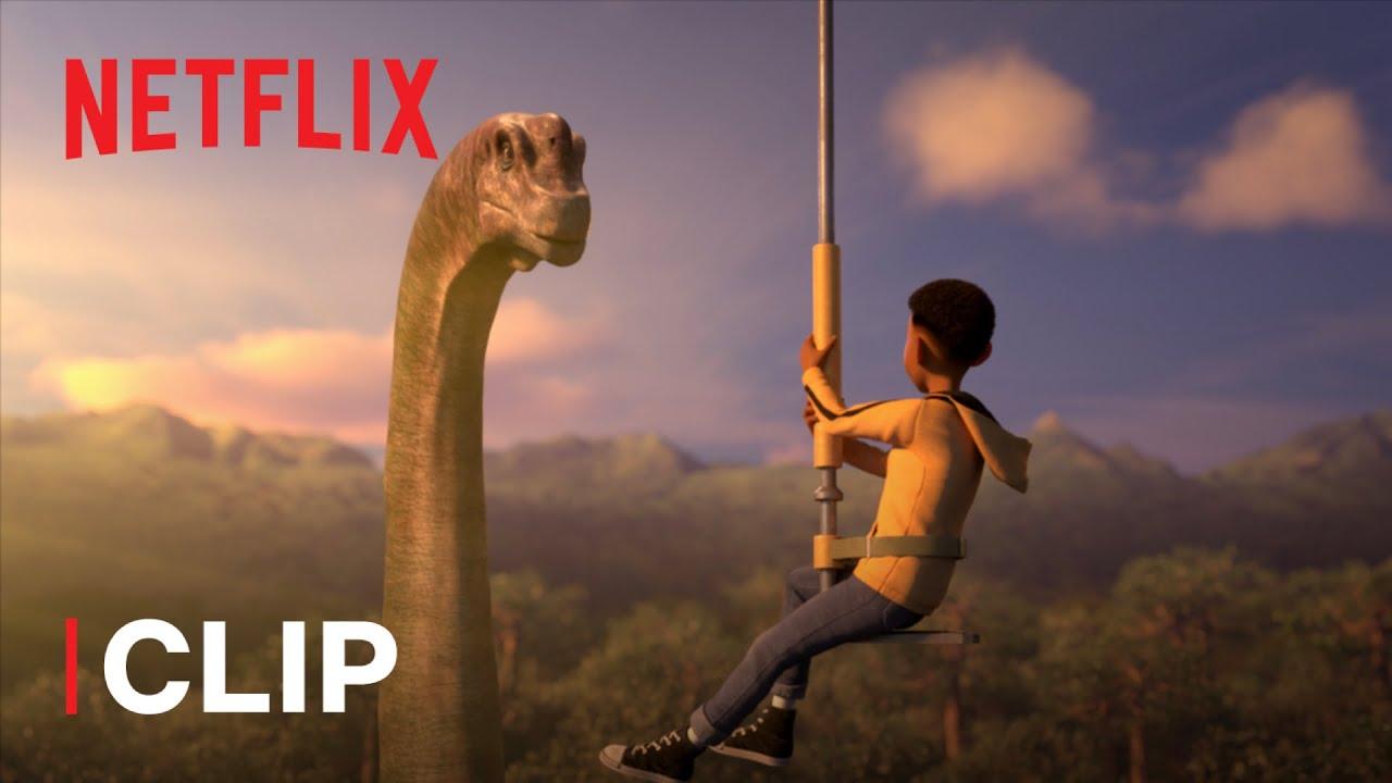 Jurassic World: Nuove Avventure | Il primo avvistamento dei dinosauri | Netflix Futures