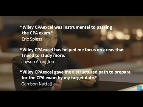 Explore Wiley CPAexcel for the 2020 CPA Exam