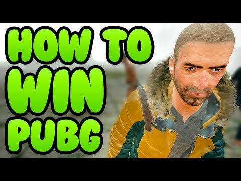 HOW TO WIN BATTLEGROUNDS PUBG - EASY TIPS TO FOLLOW