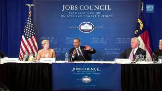 Council on Jobs and Competitiveness Meets in Durham, NC