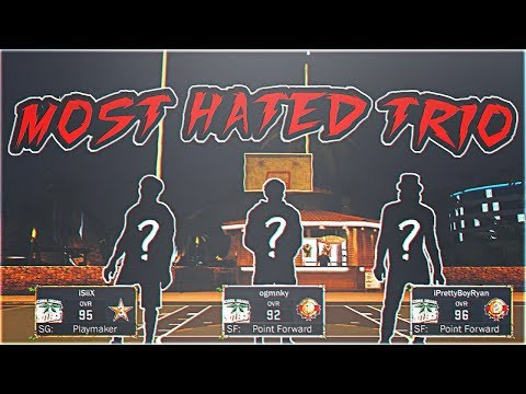 THE MOST HATED TRIO IS BACK 😱 THE BEST DRIBBLE GODS REUNITE ON NBA 2K17 MYPARK | ANKLE BREAKERS
