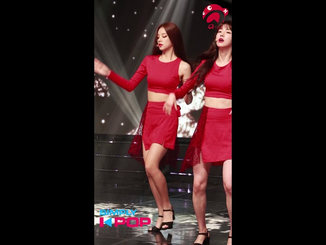 [Fancam/직캠] Solbin(솔빈) _ LABOUM(라붐) _ Between Us(체온) _ Simply K-Pop _ 081718