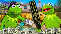 Kermit the Frog Buys a NEW House with $1,000,000!