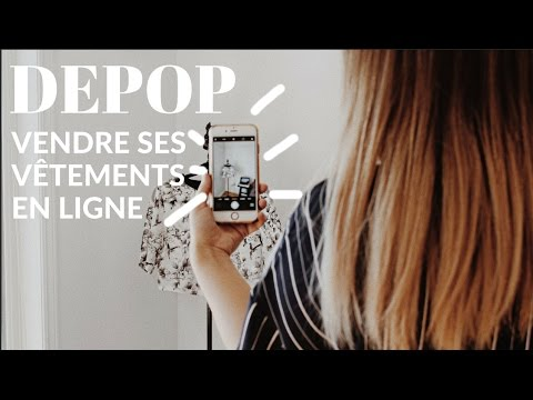 astuces depop vendre ses v tements en ligne w justine brouillette youtube. Black Bedroom Furniture Sets. Home Design Ideas