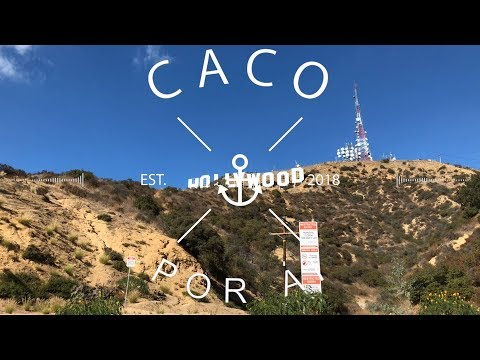 #DailyVlog2 Caco Por Aí - A saga até o HOLLYWOOD SIGN