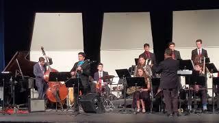Plano West Jazz ensemble concert