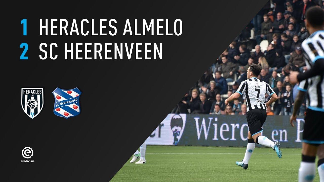 Heracles Almelo - sc Heerenveen 1-2 | 01-04-2018 | Samenvatting