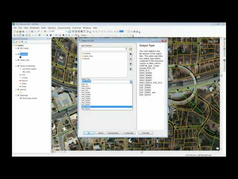 Convert GIS to CAD in ArcGIS 10 or 10.1