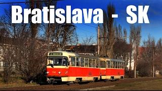 BRATISLAVA TRAM - Električka v Bratislave (28.-31.12.2013)