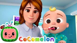 Yes Yes Brush Your Teeth! | CoComelon Nursery Rhymes & Baby Songs | Moonbug Kids