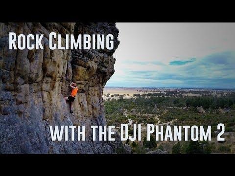 Rock Climbing with the DJI Phantom 2