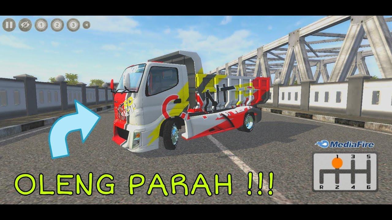 Share !! Truk CABTER DUMP RACING || Full Anim Terbaru