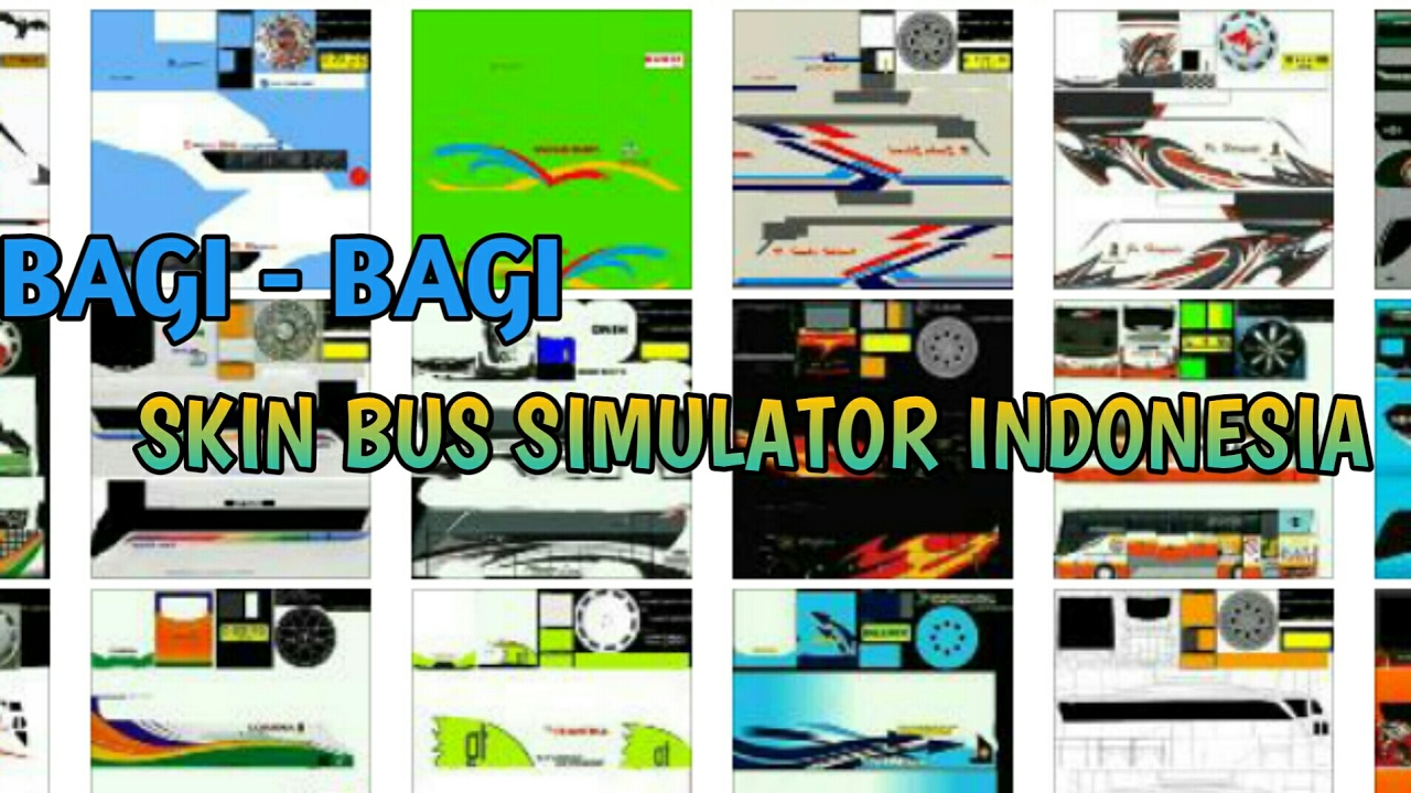download template bus simulator