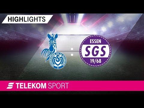 MSV Duisburg – SGS Essen| Spieltag 1, 18/19 | Telekom Sport