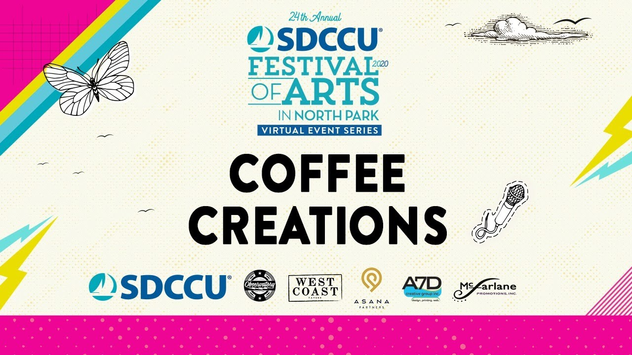 SDCCU Festival of Arts in North Park - Coffee Creations with Holsem Coffee