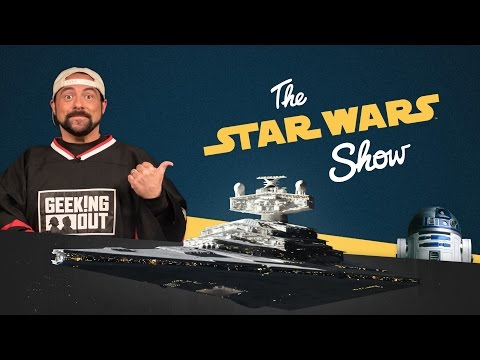 Kevin Smith Interview, Rogue One Trailer Reactions, and More | The Star Wars Show