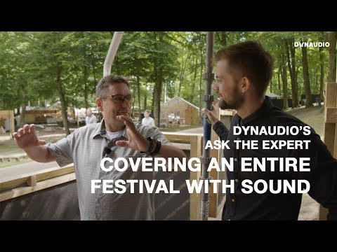 Making sound at Skanderborg Festival: the second largest in Denmark