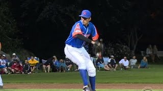 Pitcher can bring the heat with both hands