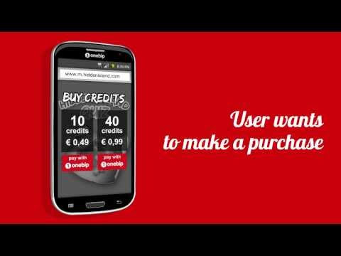 Onebip SMS-link Mobile Browser payment [Brand new video 2014]