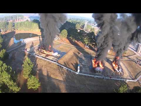 The Mississippi State Fire Academy - Aerial Video
