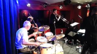 Ray Anderson feat. Han Bennink # 3, Jan. 9th, 2014, Jazz Club Hannover (Germany)