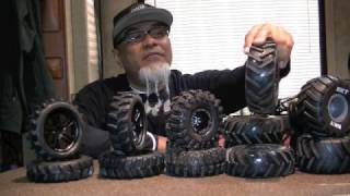 How to narrow RC wheels and tires MUST SEE Mega Mud Tires