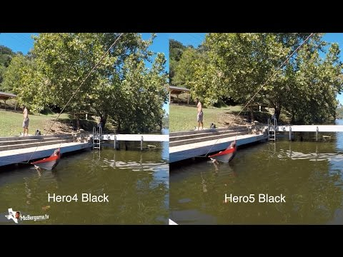 Hero5 Black Vs Hero4 Quality Sharpness Comparison