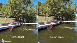 hero5 black vs hero4 black quality sharpness comparison gopro tip 545