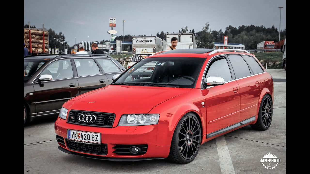 Best Audi B6 S4 A4 exhaust sounds - YouTube
