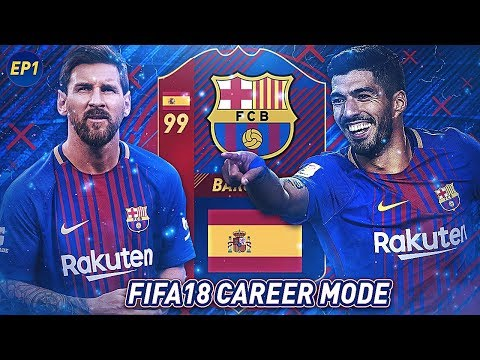 REBUILDING BARCA! SUGGEST TRANSFERS!! | FIFA 18 Career Mode: