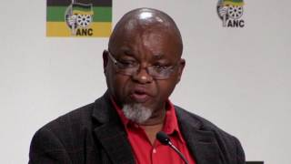 """The call to oust Zuma, is an attack on the ANC""- Mantashe at ANC post NEC briefing"