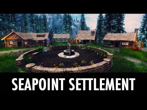 Skyrim Mod: SeaPoint Settlement