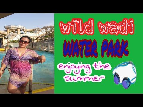 Wild Wadi water park ❤️ / swimming with mask😂