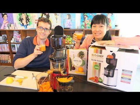 unboxing cadeau cold pressed juice fait maison biochef atlas whole slow juicer extracteur de. Black Bedroom Furniture Sets. Home Design Ideas