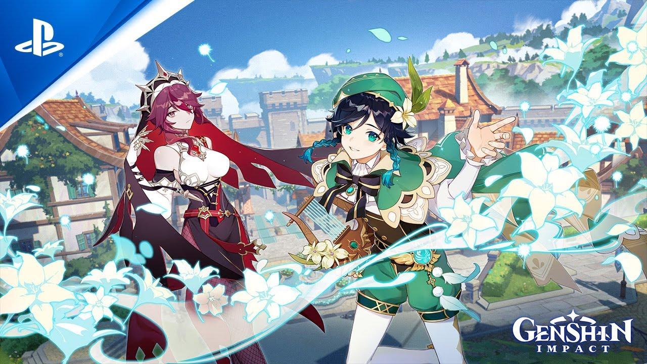 "Genshin Impact - Version 1.4 ""Invitation of Windblume"" Trailer   PS4"