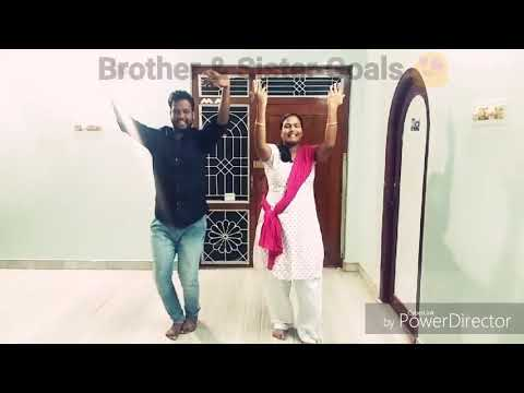 Meyaadha Maan - Thangachi Song | Fun Dance with my Sister | Brother & Sister Goal | Best duo
