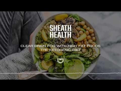 Clear Brain Fog with High Fat Foods - The Ketogenic Diet   SHEATH HEALTH