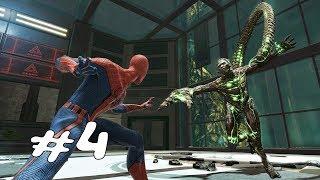 БОСС СКОРПИОН И ОГРОМНЫЙ РОБОТ S-02 ► The Amazing Spider Man ► Прохождение #4