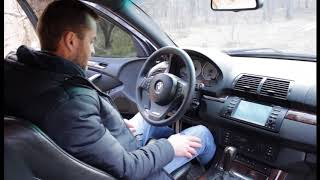 Обзор BMW Х5 Е53 4.8 л ( салон...)