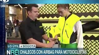 Noticias Caracol Prendas con Airbag para Motociclistas